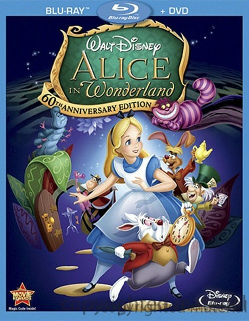 Alice In Wonderland: 60th Anniversary Edition (Blu-ray + DVD Combo) Blu-ray