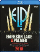 Emerson Lake & Palmer: 40th Anniversary Reunion Concert Blu-ray