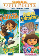 Go Diego Go!: Wolf Pup Rescue / Dora The Explorer: Animal Adventure (Double Feature) Movie