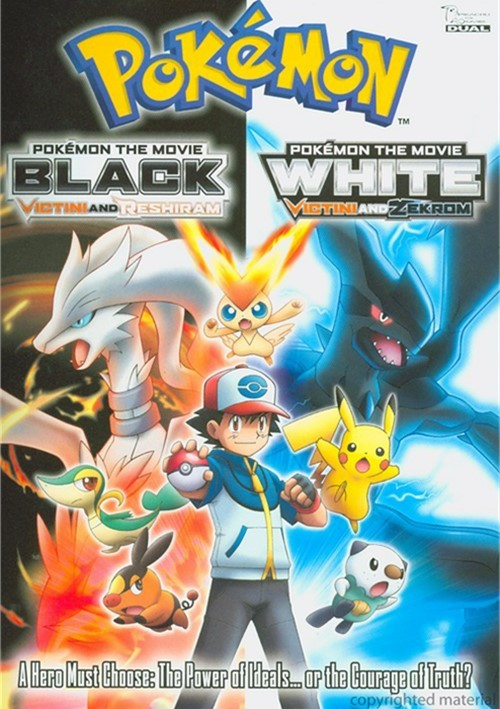 Pokemon The Movie: Black - Victini And Rshiram / White - Victini And Zekrom (Double Feature) Movie