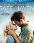 Safe Haven (Blu-ray + DVD + Digital Copy) Blu-ray