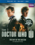 Doctor Who: The Day Of The Doctor 3D (Blu-ray 3D + Blu-ray + DVD) Blu-ray