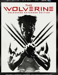 Wolverine, The: Unleashed Extended Edition 3D (Blu-ray 3D + Blu-ray + DVD + UltraViolet) Blu-ray