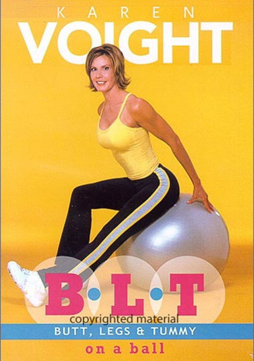 Karen Voight: Butt, Legs & Tummy On a Ball Movie