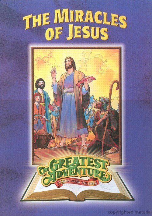 Greatest Adventures Of The Bible: The Miracles Of Jesus Movie