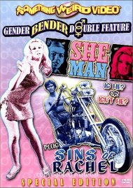 She-Man / Sins Of Rachel (Double Feature) Movie