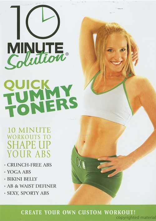 10 Minute Solution: Quick Tummy Toners Movie