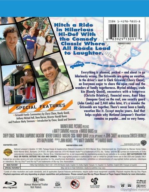 National Lampoon's Vacation (Blu-ray 1983)