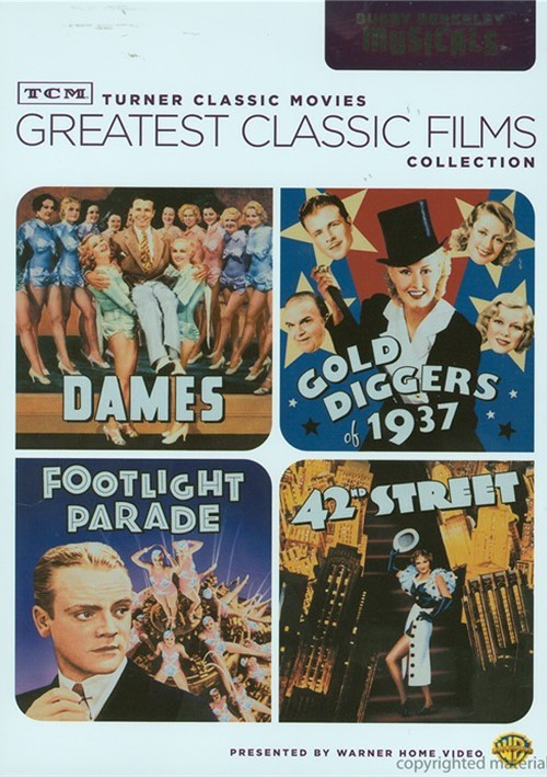 Greatest Classic Films: Busby Berkeley Musicals Movie