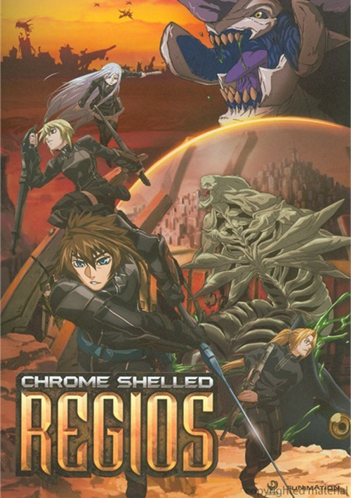 Chrome Shelled Regios: The Complete Series Movie