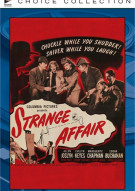 Strange Affair Movie