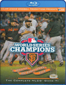 2012 San Francisco Giants: The Official World Series Film Blu-ray