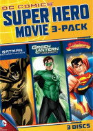 DC Superheroes Movies: 3 Pack Movie