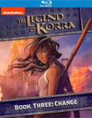 Legend Of Korra, The: Book Three - Change Blu-ray