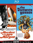 Murders In The Rue Morgue / The Dunwich Horror Blu-ray