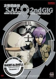 Ghost In The Shell: S.A.C. 2nd Gig Volume 2 - Limited Edition Movie