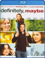 Definitely, Maybe Blu-ray