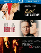 Fatal Atttraction / Disclosure / A Perfect Murder (Triple Feature) Blu-ray