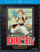 Fairy Tail: Collection Four (Blu-ray + DVD Combo) Blu-ray
