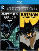 Batman: Gotham Knight / Batman: Year One Blu-ray