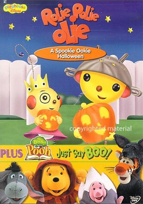 Rolie Polie Olie: A Spookie Halloween/The Book of Pooh ... Brother Bear Dvd Menu