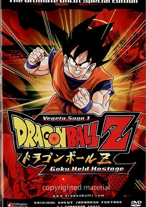 Dragon Ball Z: Vegeta Saga 1 - Goku Held Hostage (Uncut) Movie