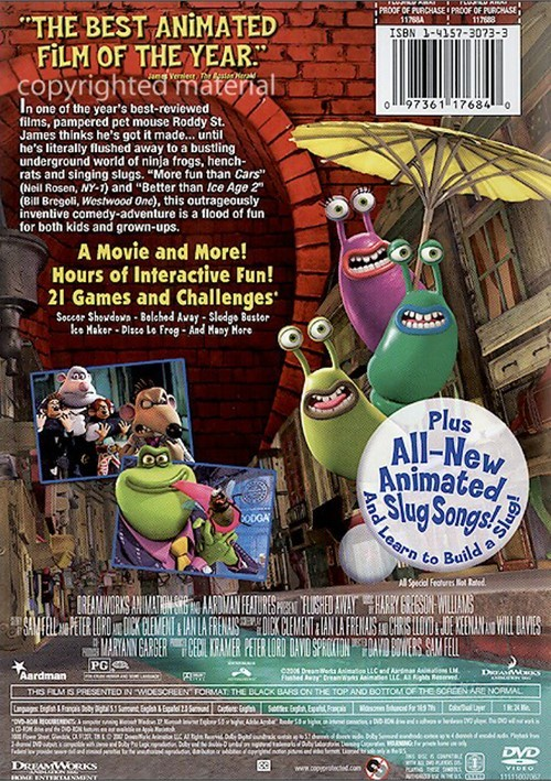 Flushed Away (Widescreen) (DVD 2006) | DVD Empire