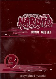 Naruto: Volume 3 - Box Set Movie