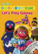 Play With Me Sesame: Lets Play Games Movie