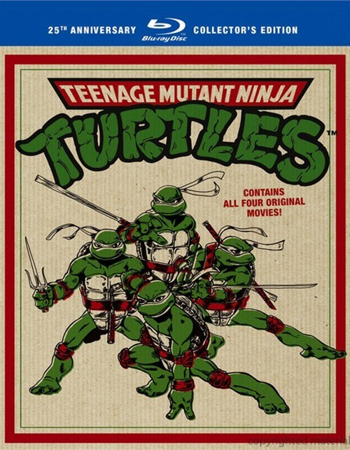 Teenage Mutant Ninja Turtles Film Collection Blu-ray