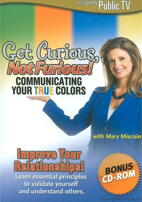 Get Curious, Not Furious: Communicating Your True Colors Movie