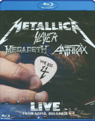 Metallica / Slayer / Megadeth / Anthrax: The Big 4 - Live From Sofia, Bulgaria Blu-ray