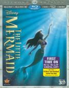 Little Mermaid 3D, The: Diamond Edition (Blu-ray 3D + Blu-ray + DVD + Digital Copy) Blu-ray
