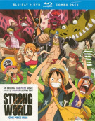 One Piece: Strong World (Blu-ray + DVD Combo) Blu-ray