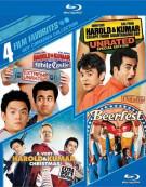 4 Film Favorites: Guy Comedies Blu-ray
