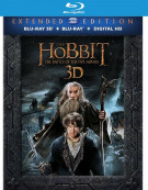 Hobbit, The: The Battle Of The Five Armies - Extended Edition (Blu-ray 3D + Blu-ray + UltraViolet) Blu-ray
