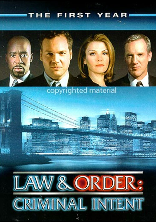 Law & Order: Criminal Intent - The First Year Movie
