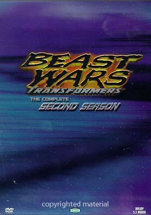 Beast Wars Transformers: Complete Second Season Boxed Set Movie