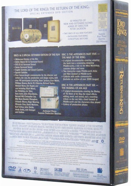 lord of the rings the the return of the king platinum