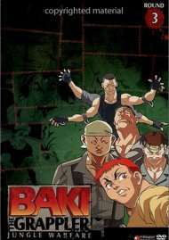 Baki The Grappler: Round 3 - Jungle Warfare Movie