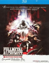 Full Metal Alchemist Brotherhood: Complete Collection Two Blu-ray