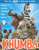 Khumba 3D (Blu-ray 3D + Blu-ray + DVD) Blu-ray