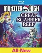 Monster High: Great Scarrier Reef (Blu-ray + DVD + UltraViolet) Blu-ray