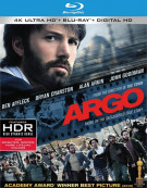 Argo (4K Ultra HD + Blu-ray + UltraViolet) Blu-ray