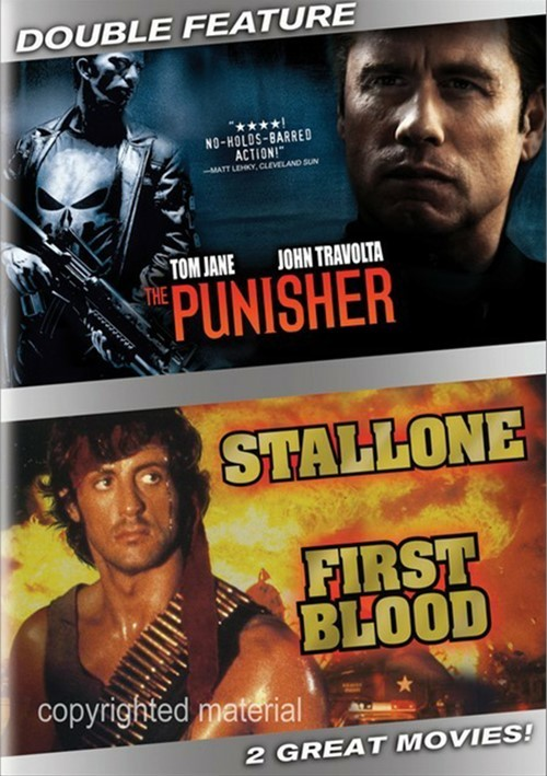 Punisher, The / Rambo: First Blood (Double Feature) Movie