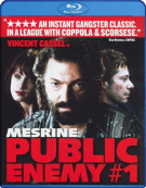 Mesrine: Public Enemy #1 Blu-ray