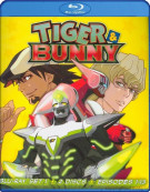 Tiger & Bunny: Set One Blu-ray