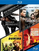 4 Film Favorites: Action Thrillers Blu-ray