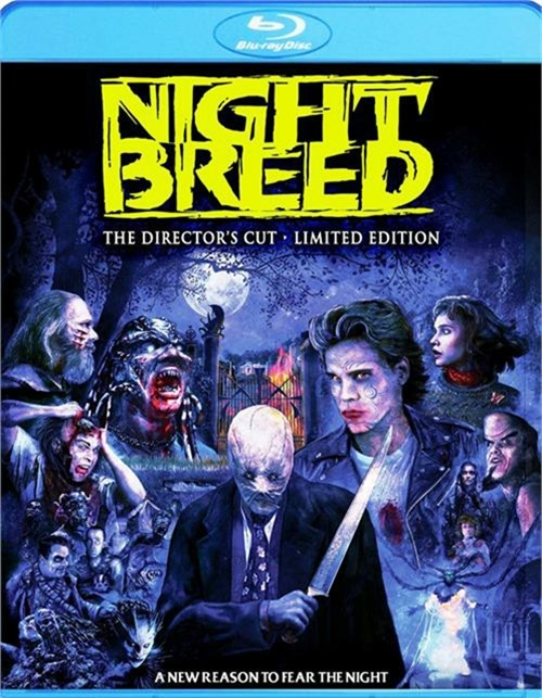 nightbreed the directors cut limited edition bluray