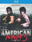 American Ninja 3: Blood Hunt Blu-ray